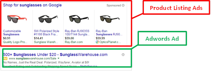 Product Listing Ad